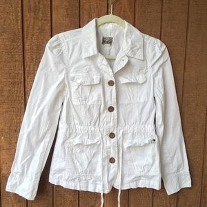 White Converse Utility Jacket Size Small